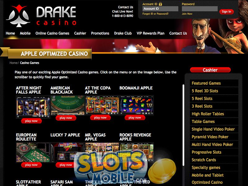 Drake Casino Online Review With Promotions & Bonuses