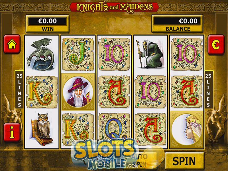 Knights and maidens slots