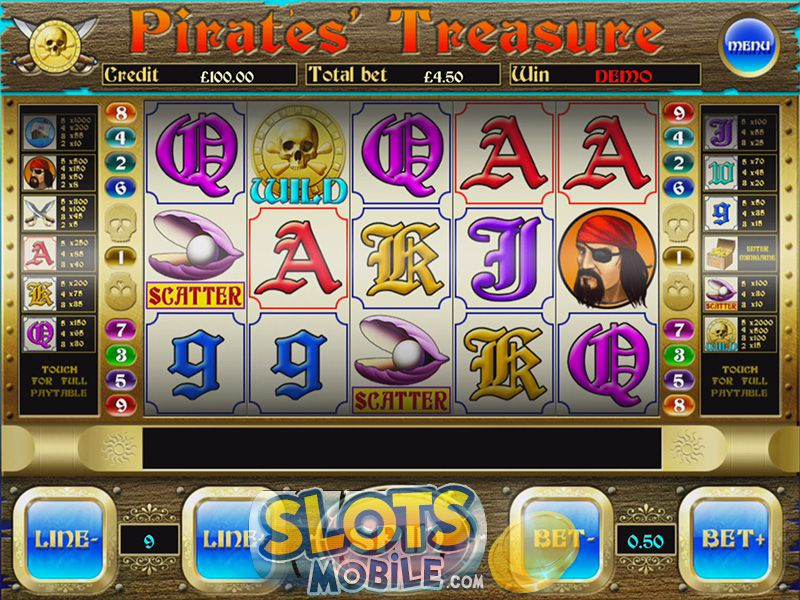 Wild Pirates Slot - Read a Review of this Spielo Casino Game