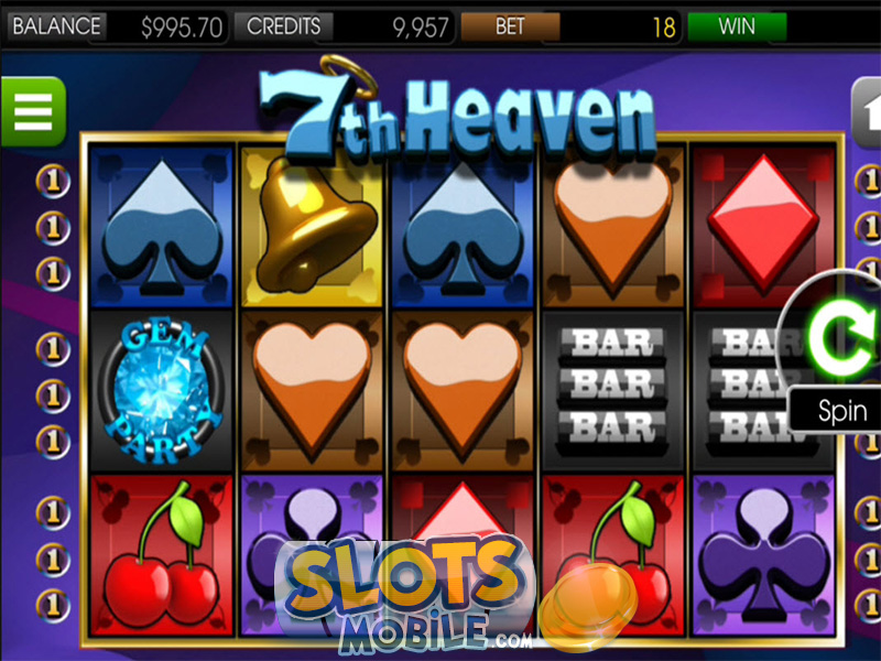 7th Heaven Slots - Play 7th Heaven Slots from BetSoft