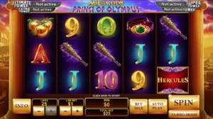 Mythology themed mobile slots galore