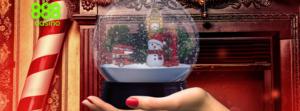 888 Casino Snow globe promotion