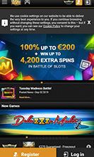 Videoslots Casino Mobile